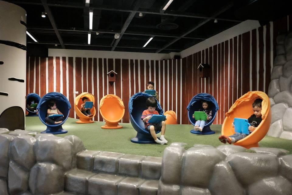 ikea singapur çocuklar için tablet bahçesi