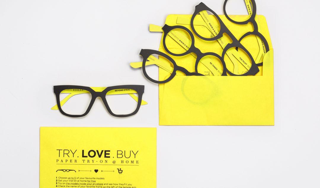 Quattrocento karton gözlük