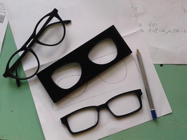kartondan demo gözlük