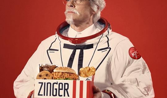 KFC Zinger Menu