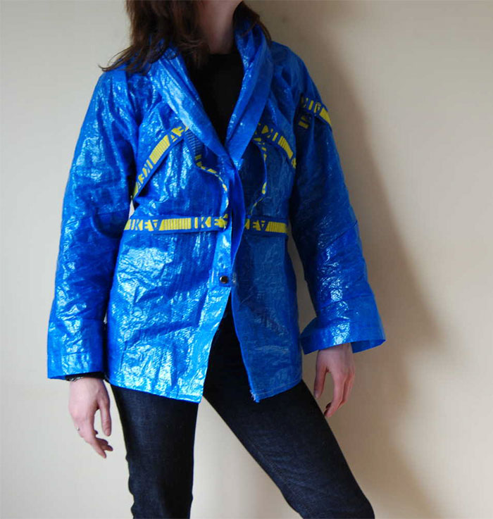 ikea su geçirmez ceket