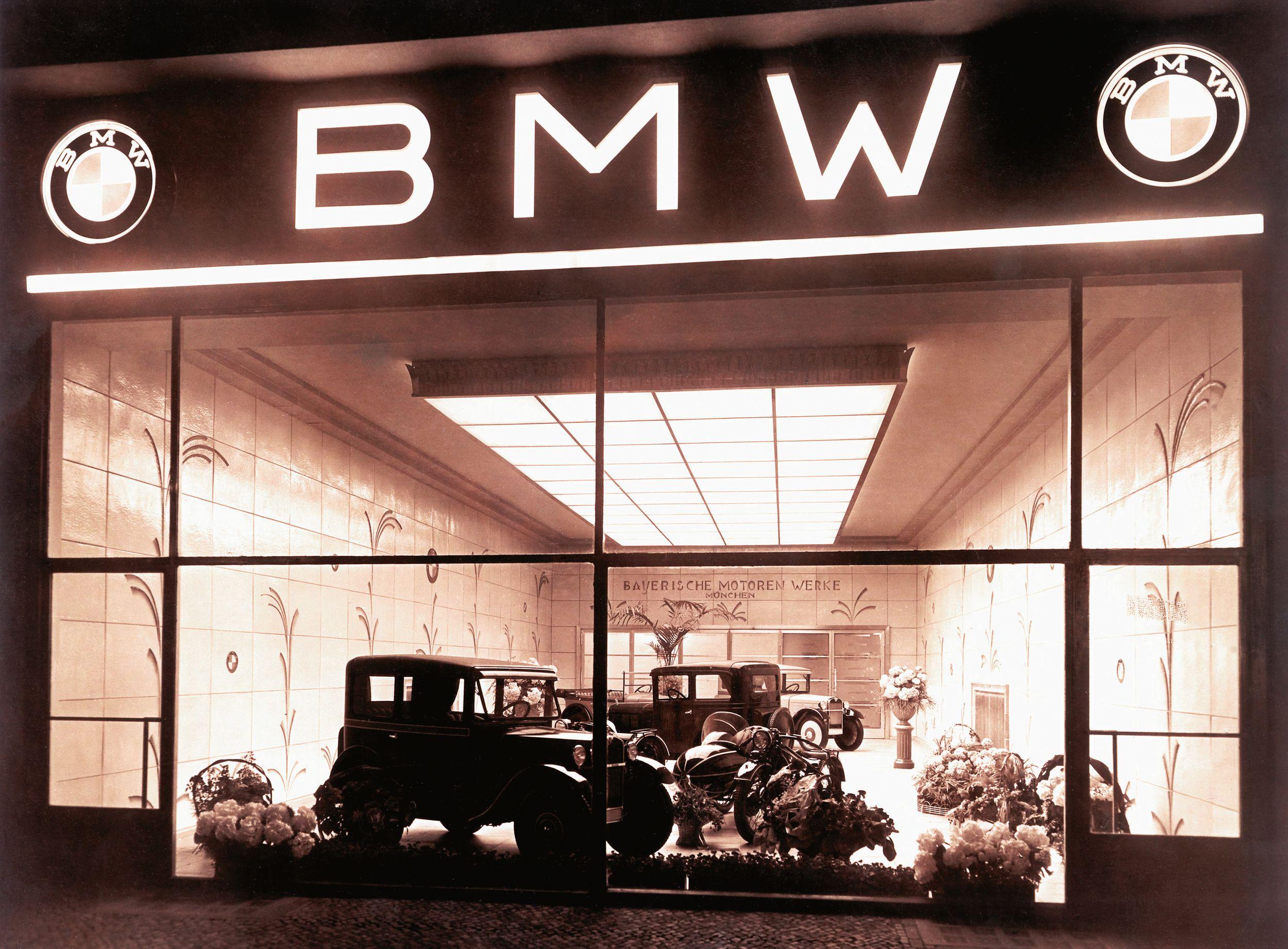bmw ne üretiyordu
