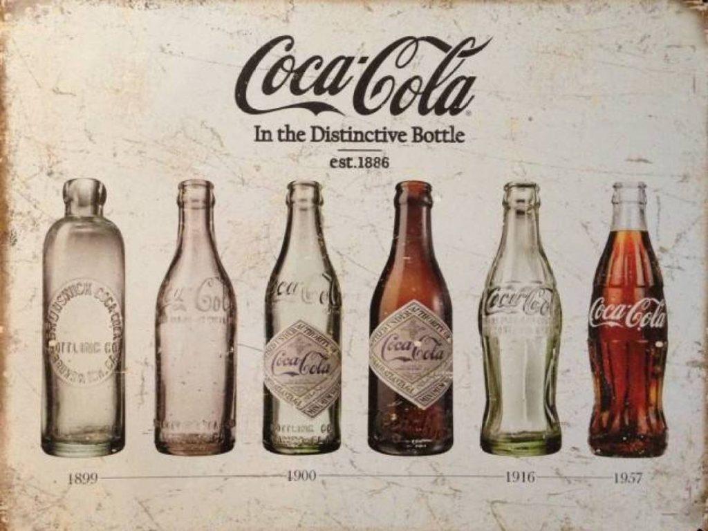 Coca Cola şişelerinin tarihi