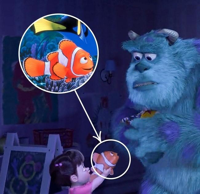 Canavarlar/Kayıp balık Nemo