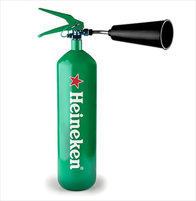Heineken marka yangın söndürücü