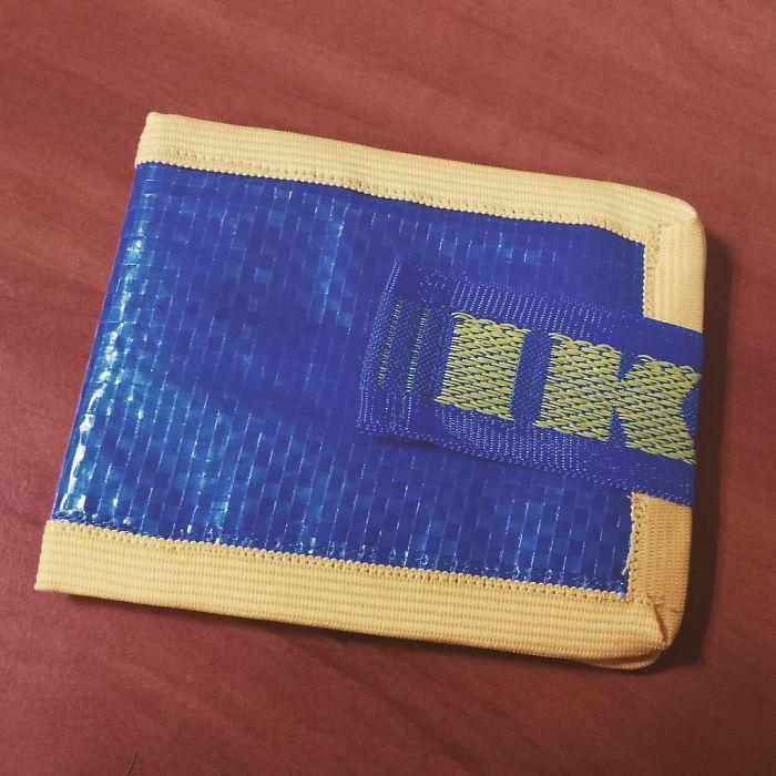 ikea mini cüzdan