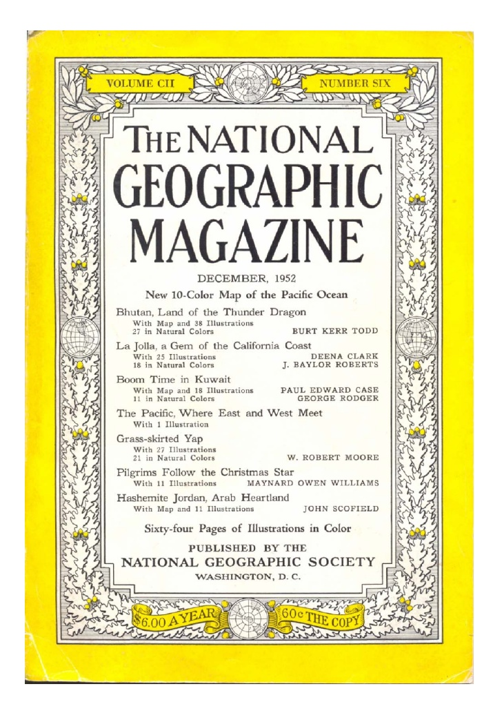 national geographic ne üretiyordu
