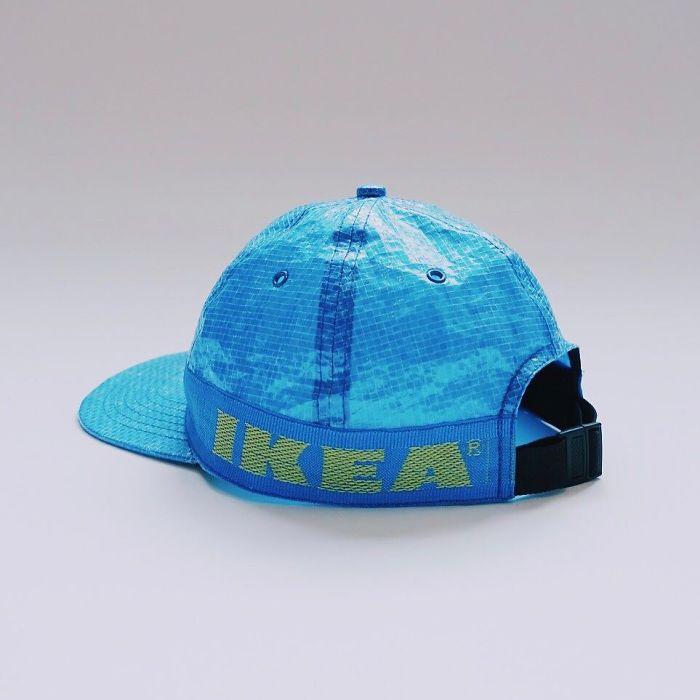 ikea mavi şapka