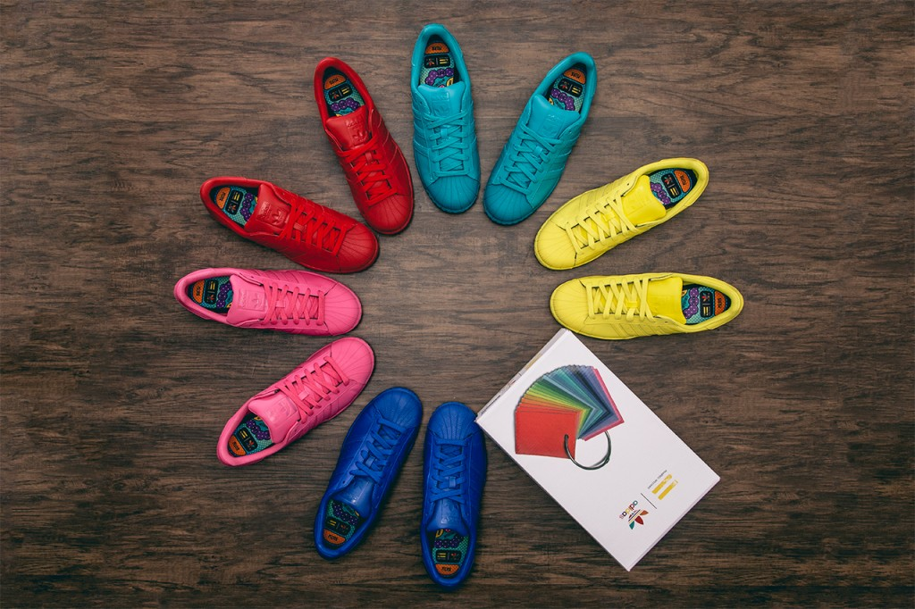 adidas ve pharell williams isbirligi originals supertar