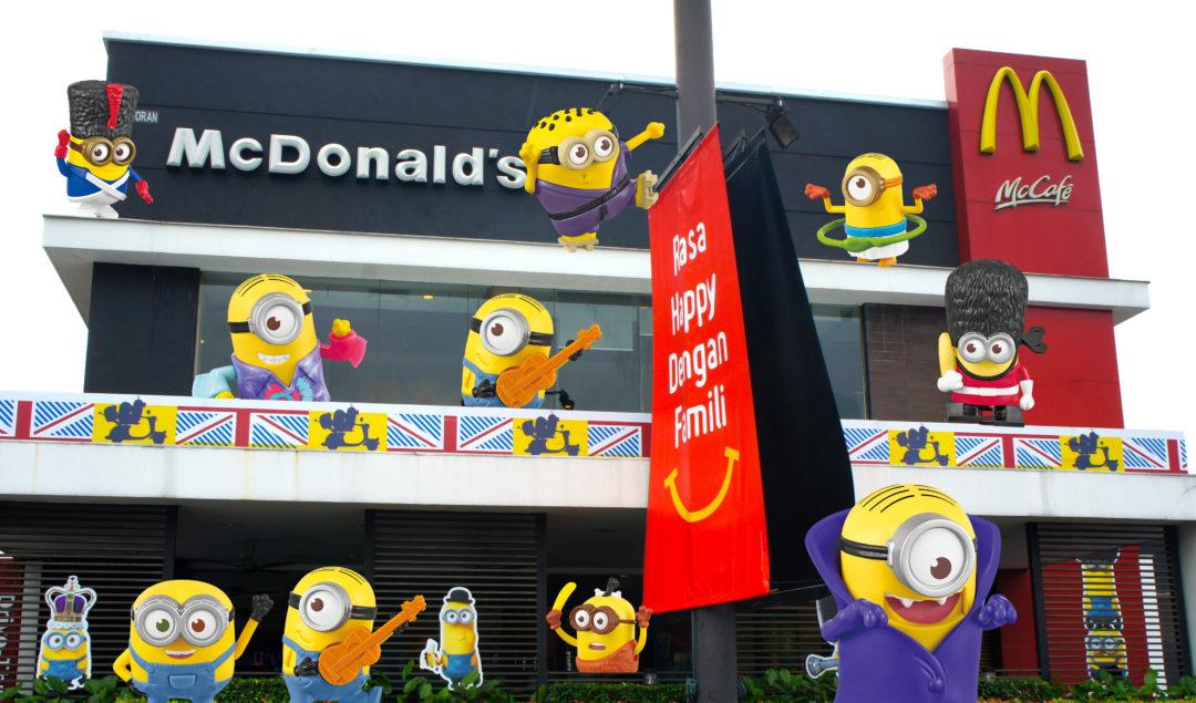 McDonald's Minions Menu