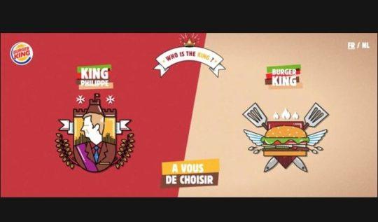 Burger King Belçika kampanyası