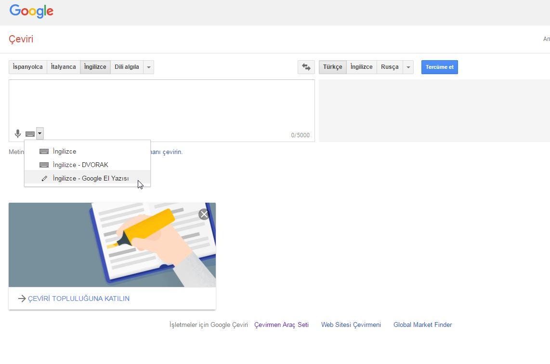googleın bilinmeyen yönleri