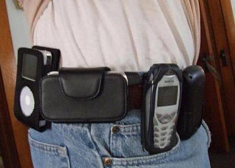 bele takılan telefon kılıfı