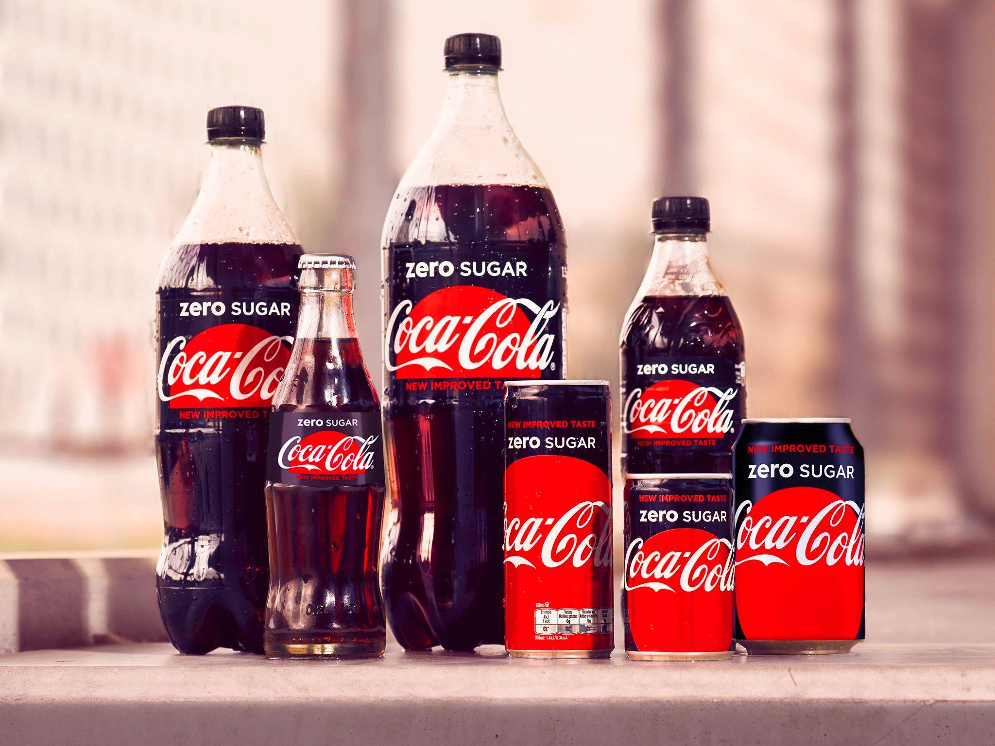 Karşınızda Coca Cola Zero Sugar