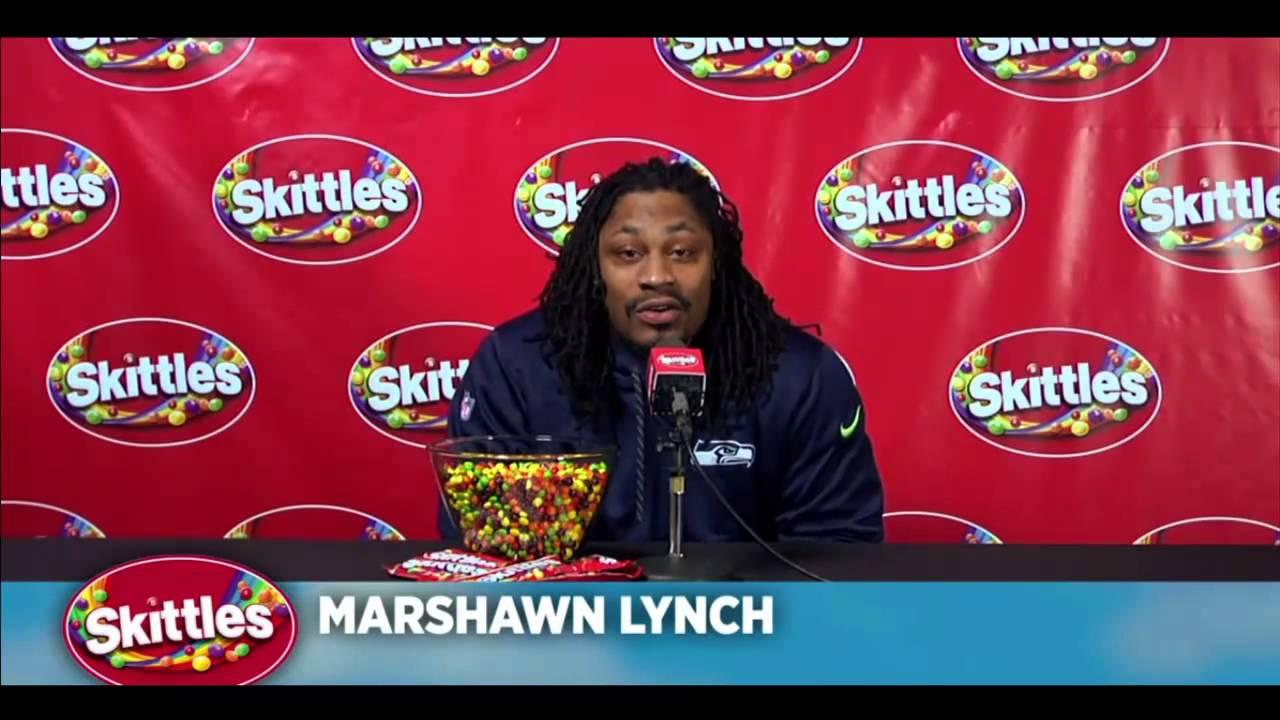 marshawn lynch ve skittles