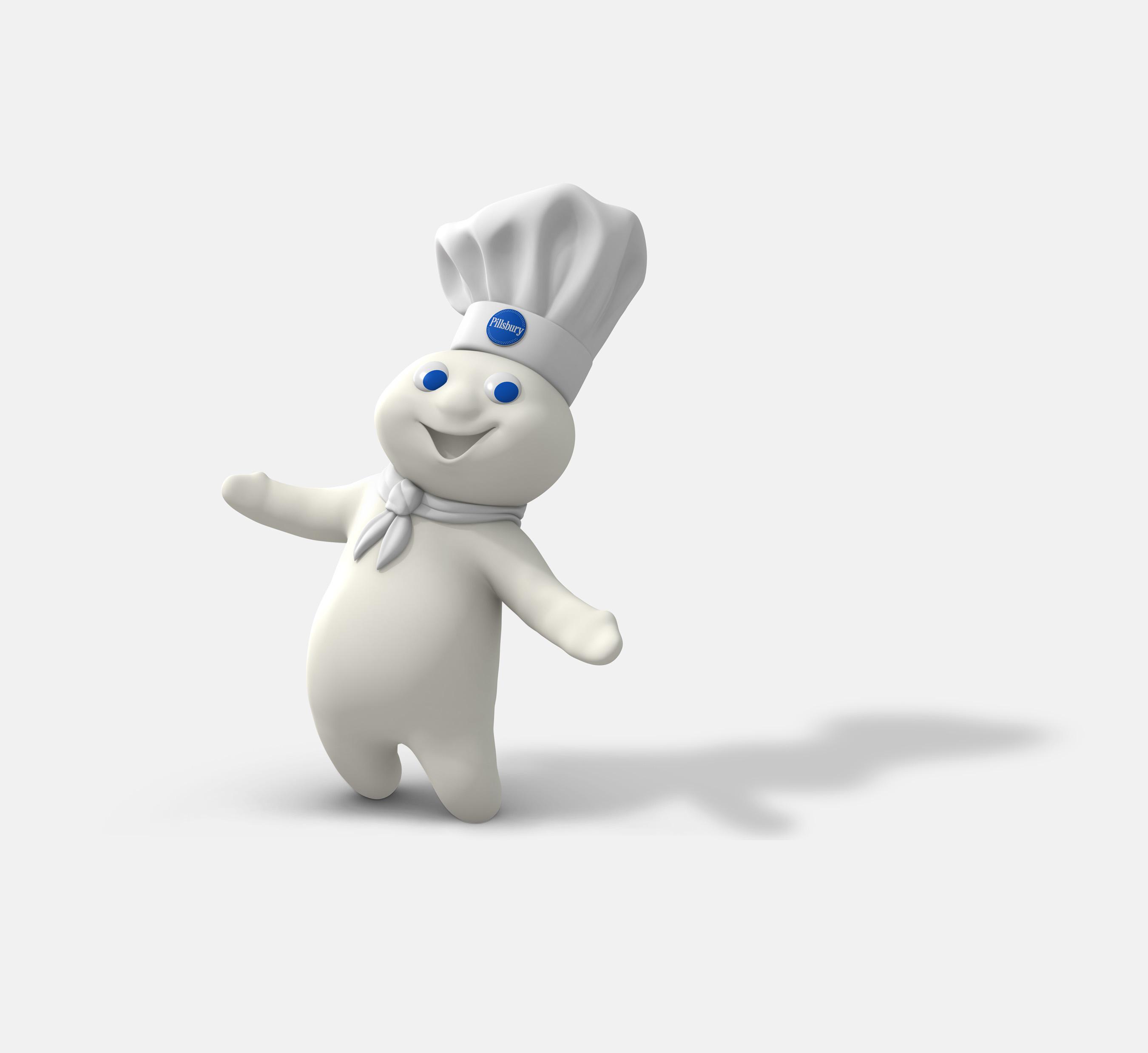 unlu mamuller markası maskotu Pillsbury Doughboy