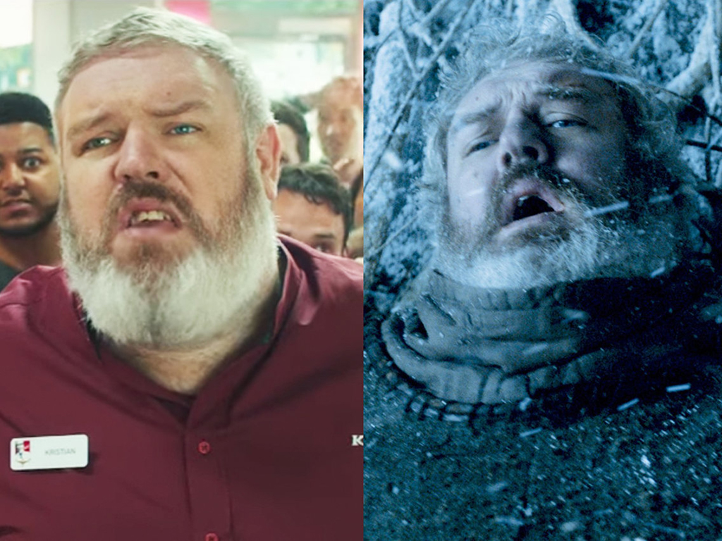 "Game of Thrones'un Hodor'u ve KFC 'nin yeni lezzeti ""chicken with rice"""