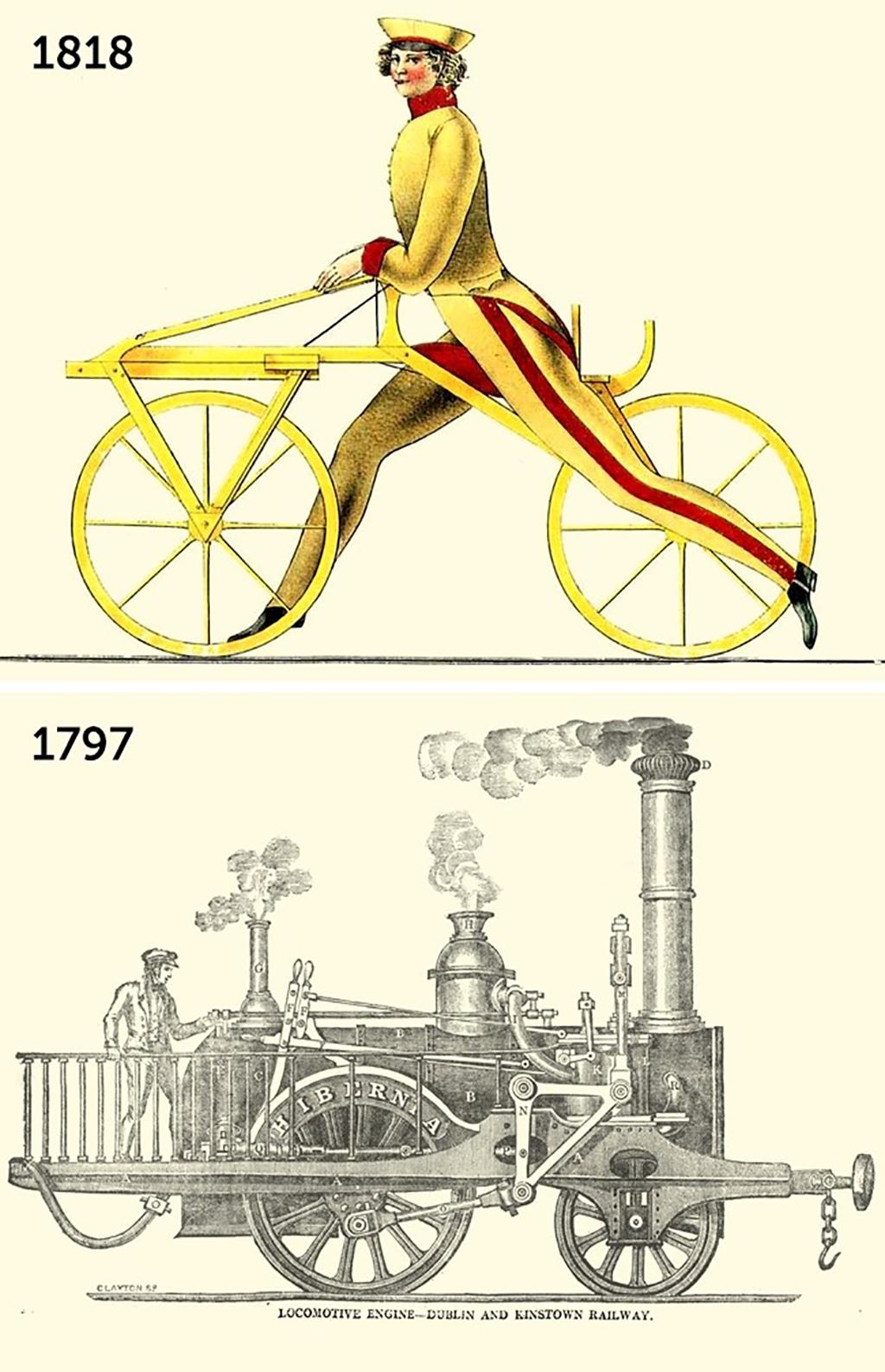 ilk trenin üretim tarihi
