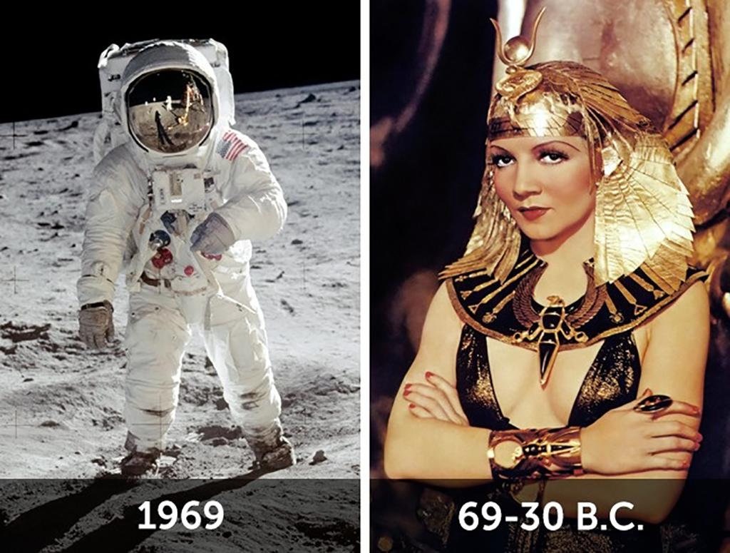 Kleopatra'nın Ay'a ilk yolculukla ilişkisi