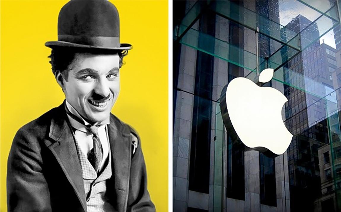 Charlie Chaplin ve Apple'ın tarihteki kesişimi