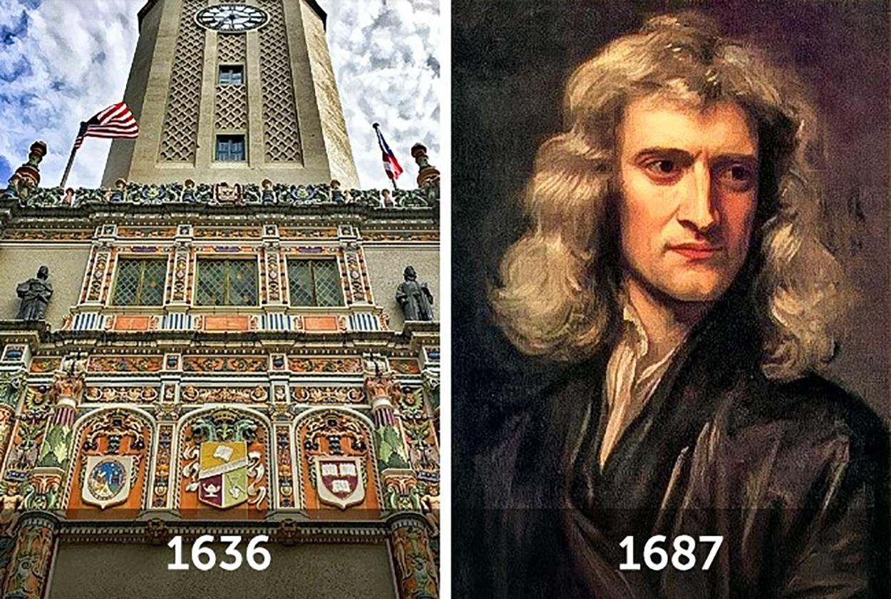 Harvard Üniversitesi ve Isaac Newton