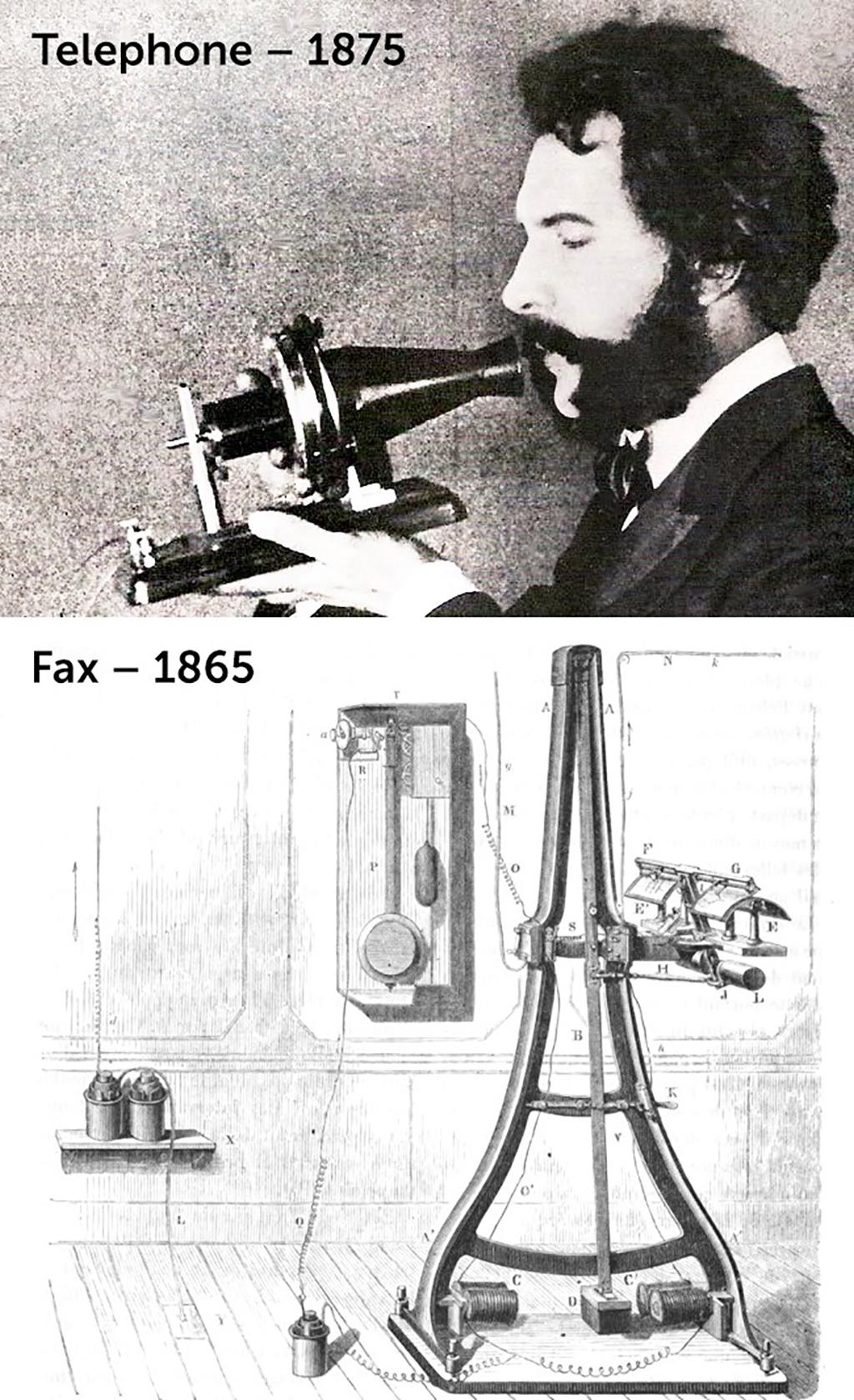 Fax ve Telefonun Tarihi