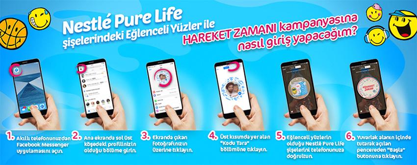 Nestle'nin harekete geçiren kampanyası