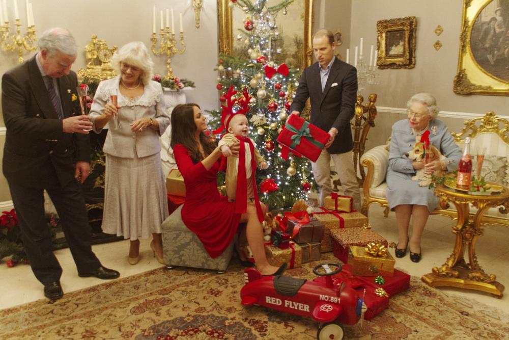 Kraliyet Ailesinin noel kutlaması