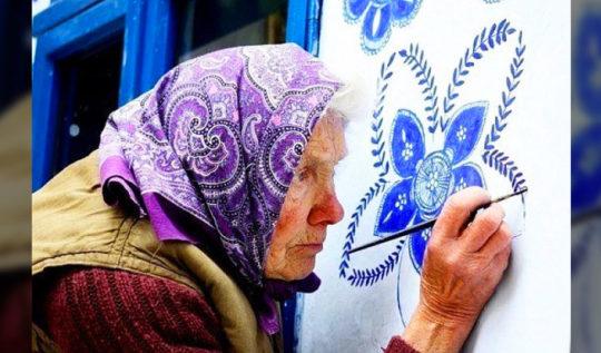çiçek açan duvarlar Anežka Kašpárková