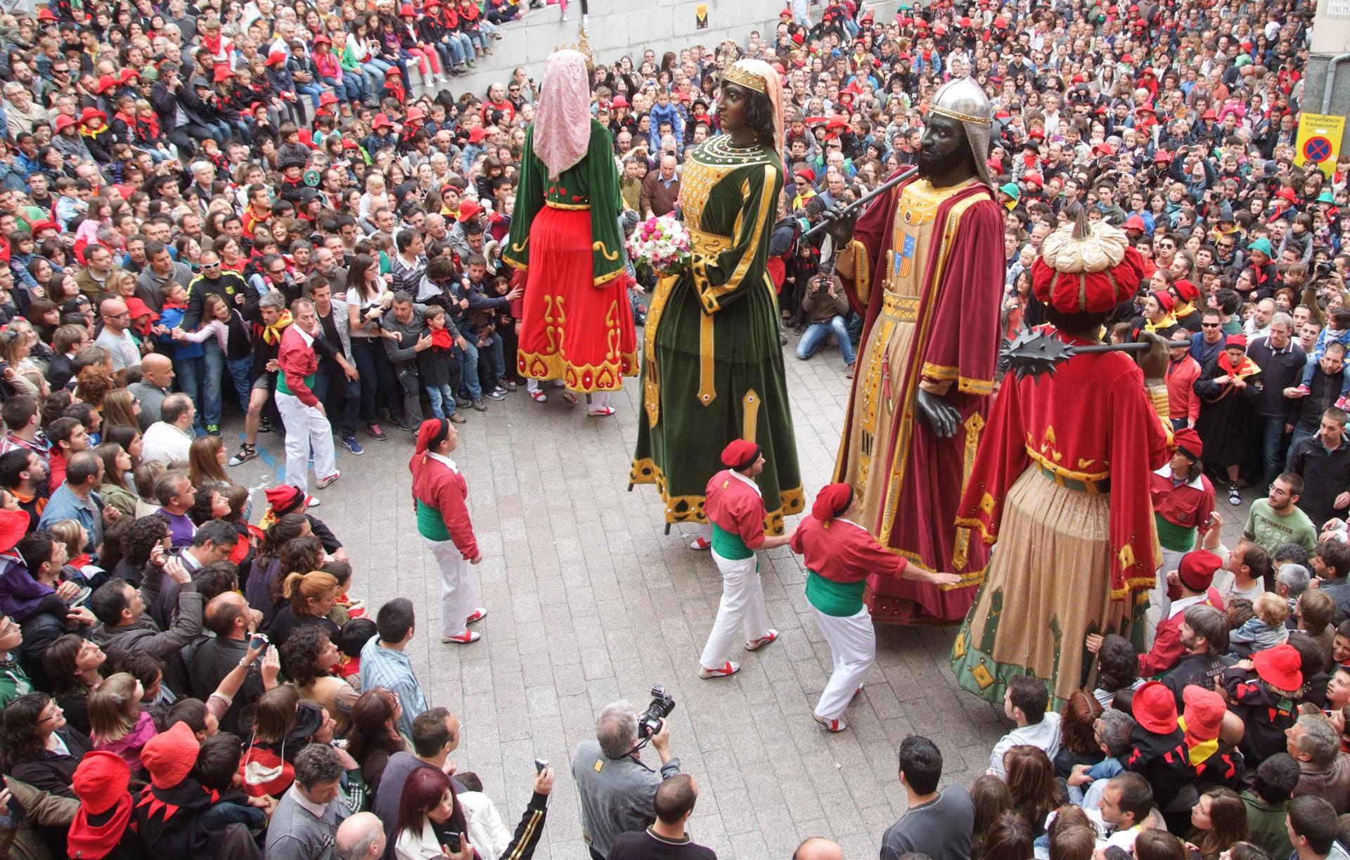 patum de berga festival kültür ögesi