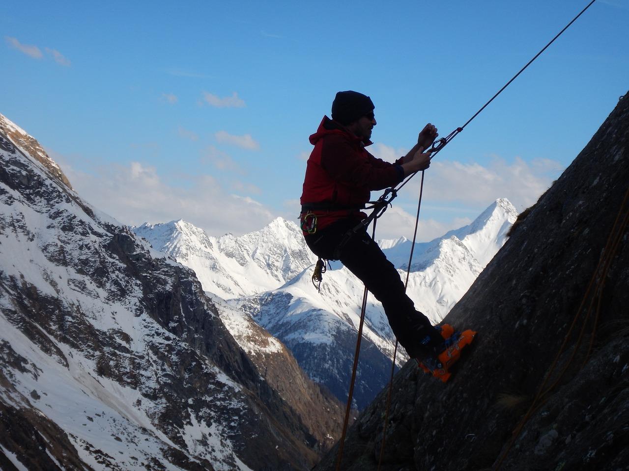 Adrenalin Bağımlıları için Kaya Tırmanışı