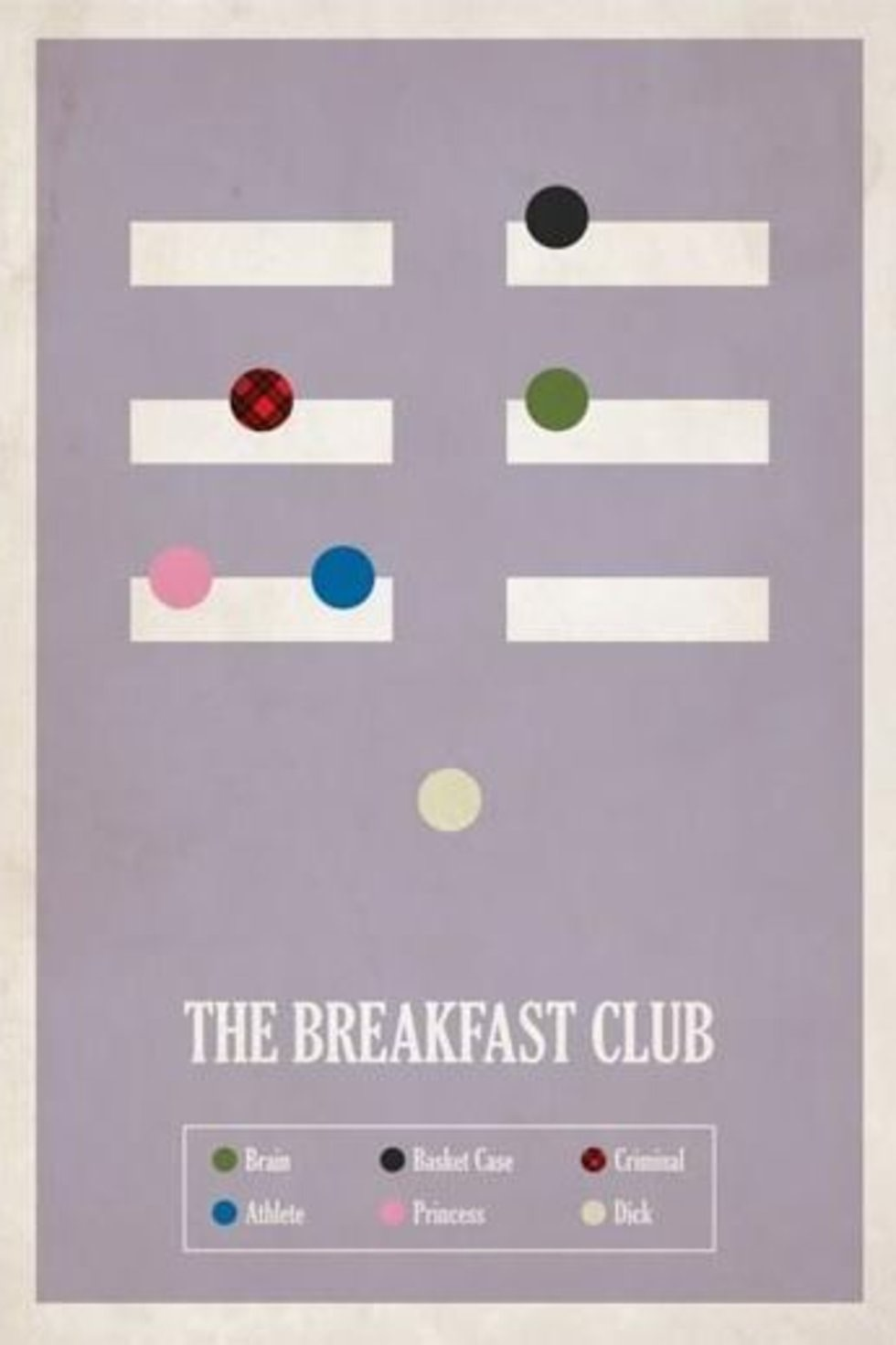 the breakfasr club minimal film afişi