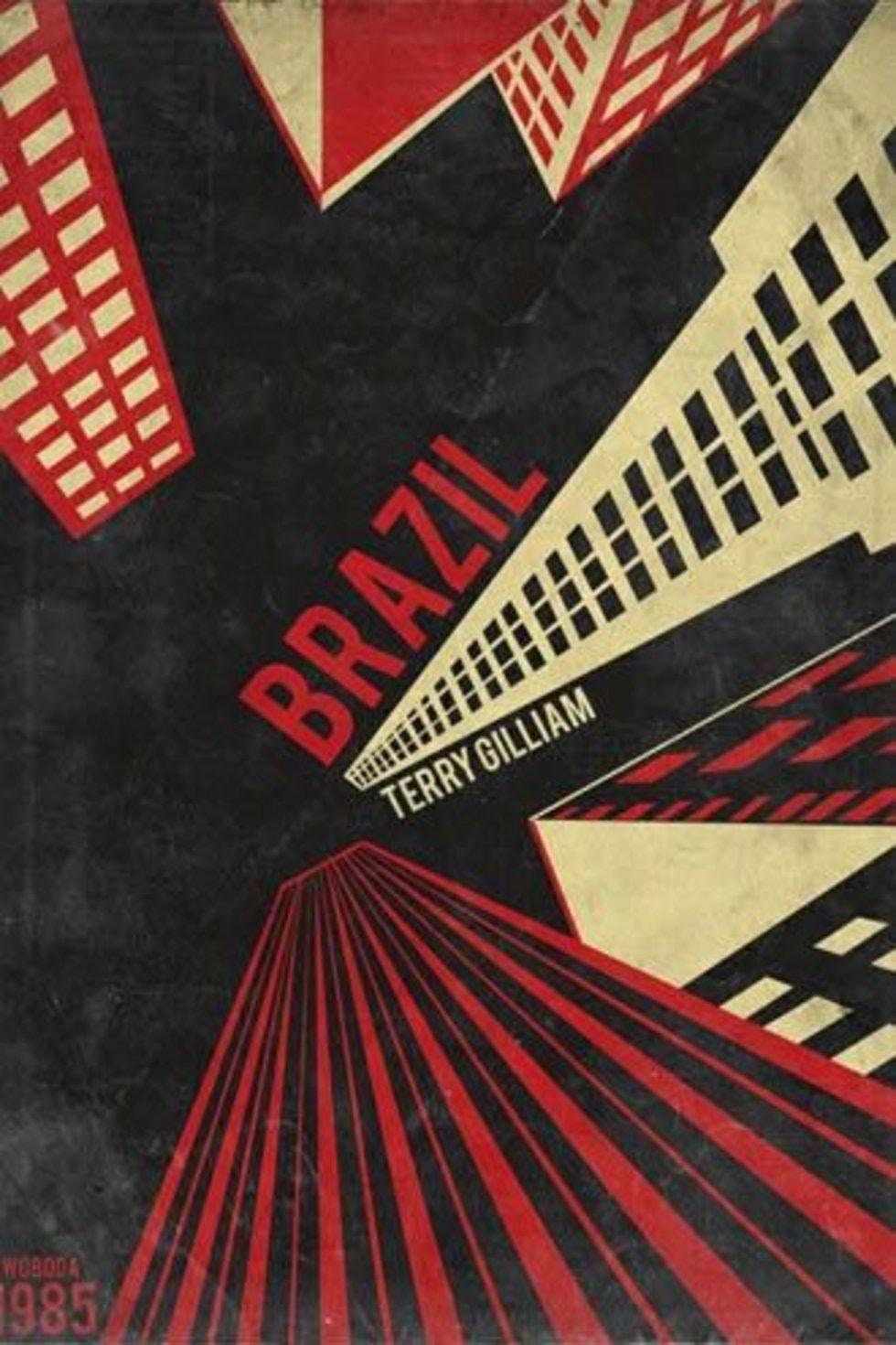 brazil filmi minimal afiş
