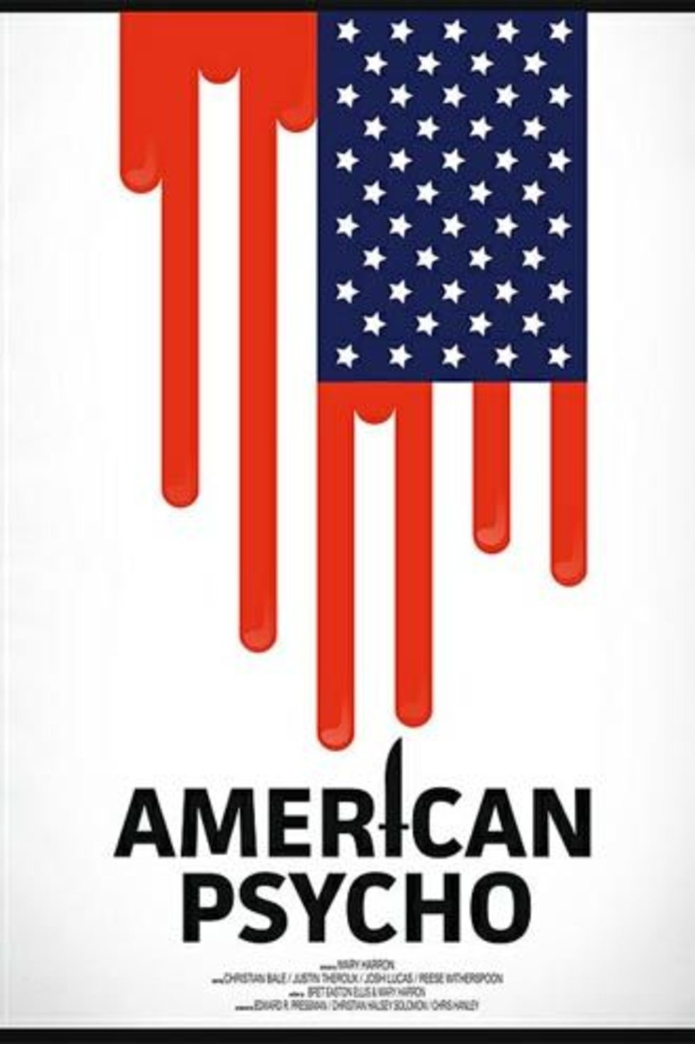 amerikan sapığı poster