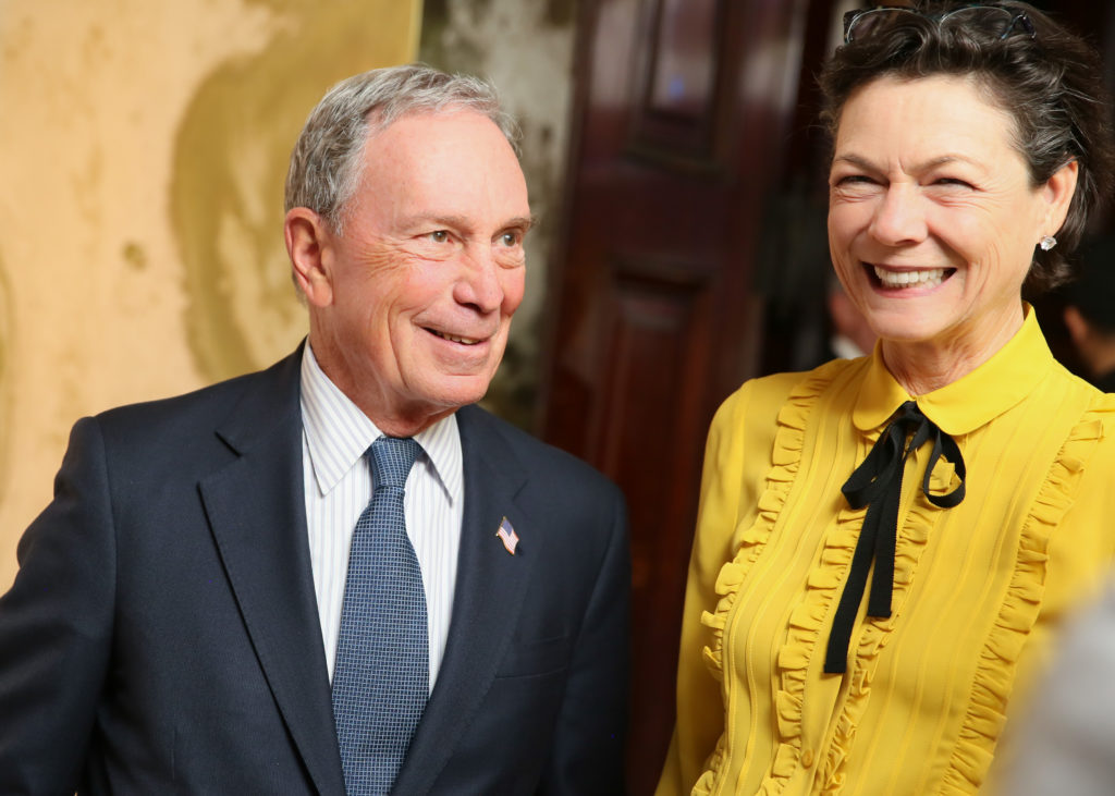 Michael Bloomberg, Diana Taylor