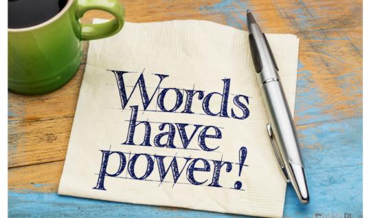 sözcüklerin gücü