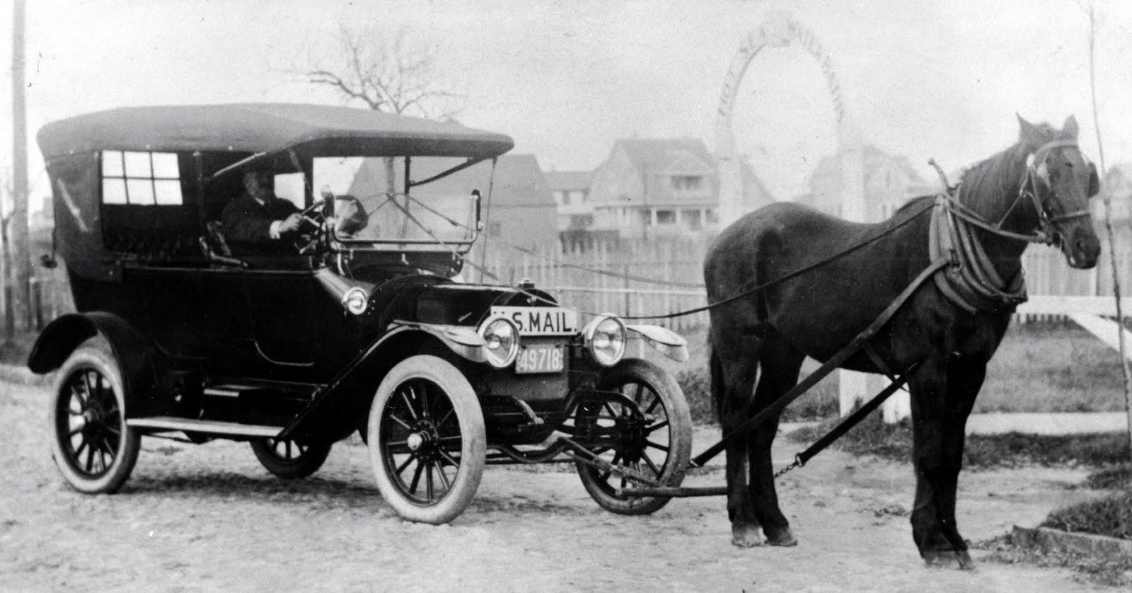 100 yıl önce kullanılan at arabaları