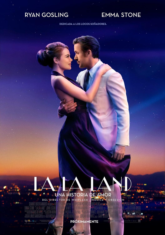 La La Land Aşıklar Şehri filminin orijinal film afişi