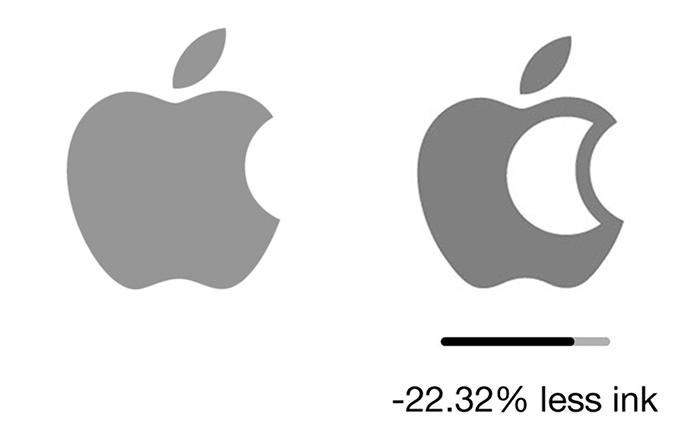 apple çevre dostu logo