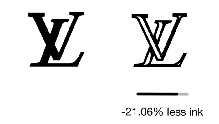 Luis Vuiton çevre dostu logo
