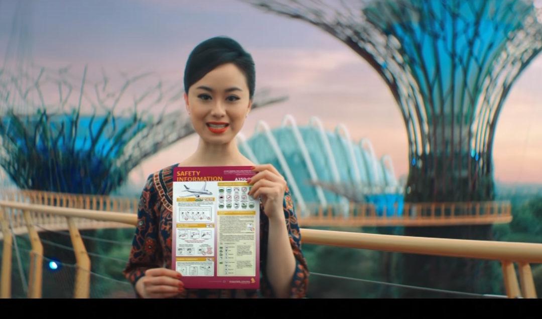 Singapur Havayolları'nın Yeni Güvenlik Kuralları Videosu