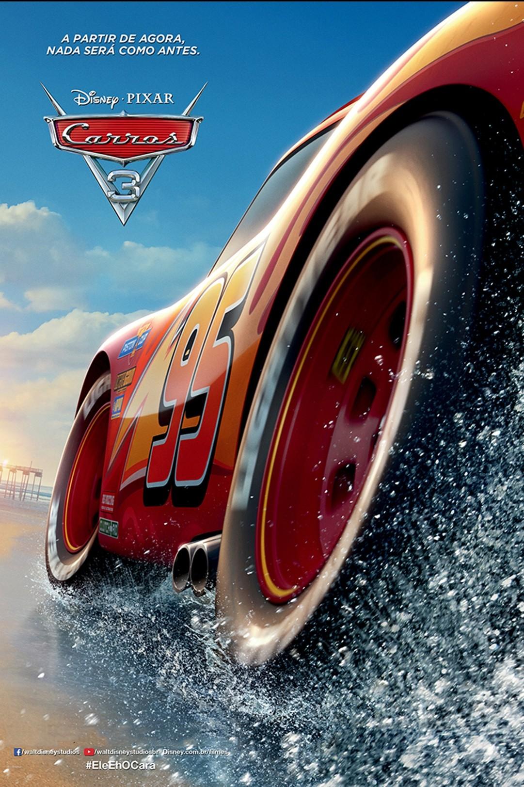 Arabalar 3 filmi orijinal film afişi