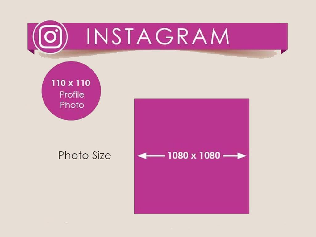 instagram için görsel boyutları