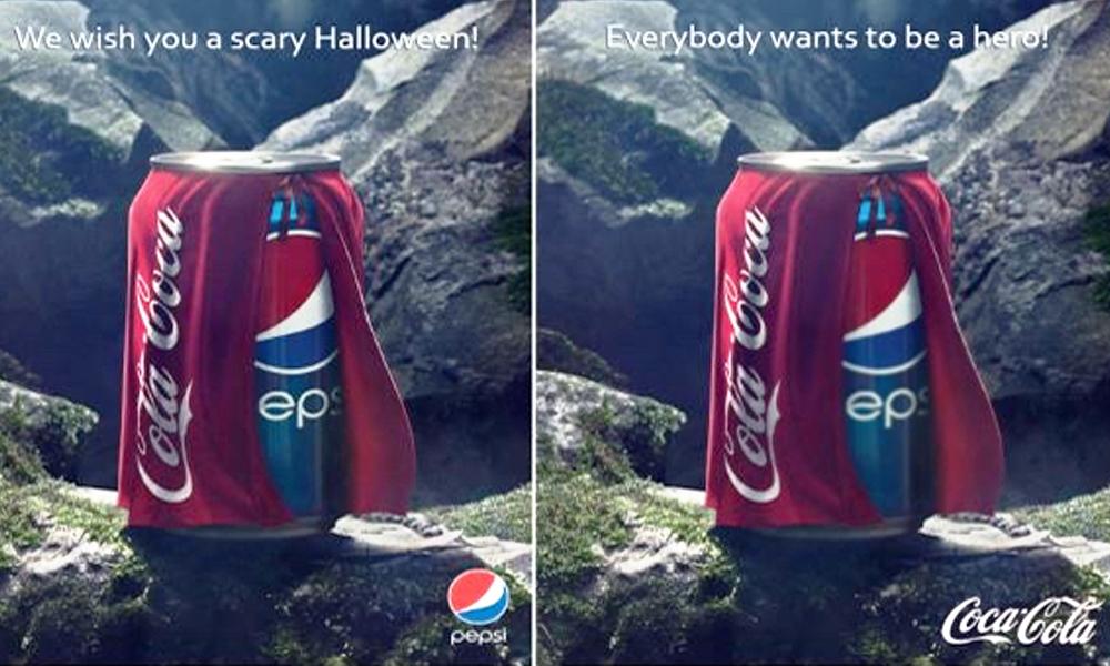 coca cola yaratıcı reklamları