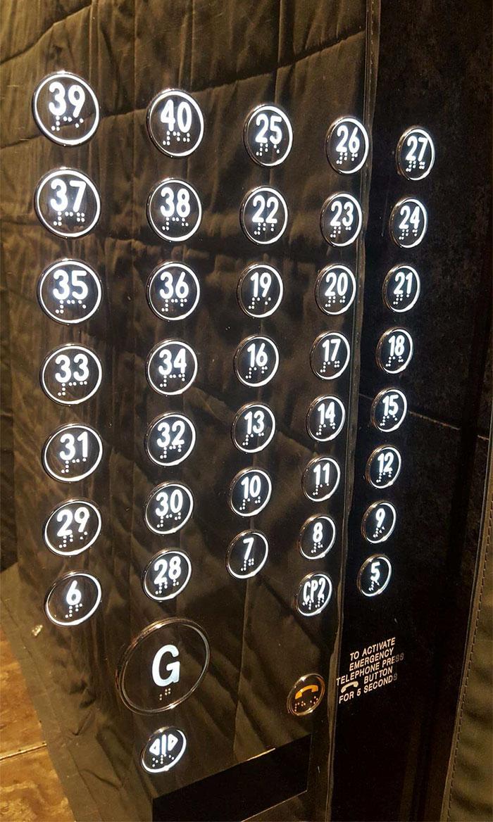 karışık numaralı asansör
