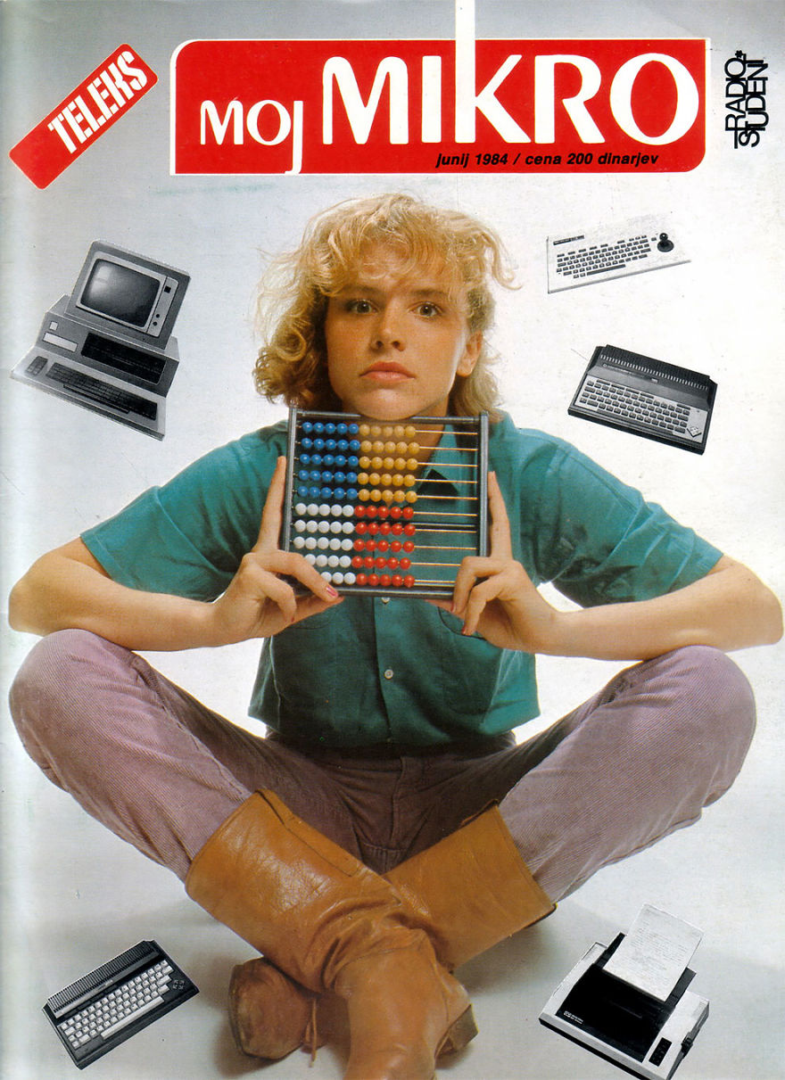 eski tip bilgisayar