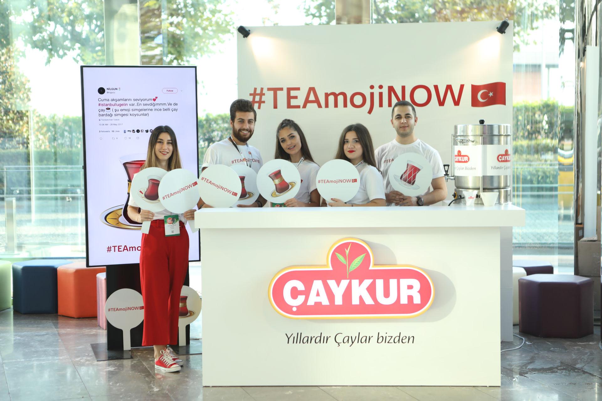#teamojinow teknoloji hashtagi