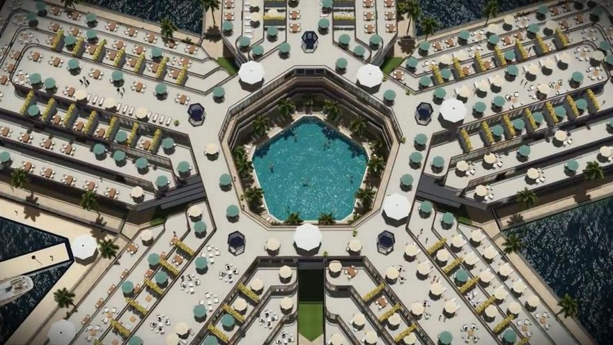 yüzen şehir
