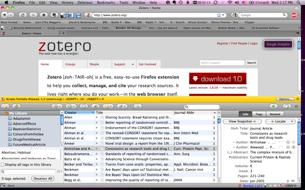 Zotero(1):文献管理软件Zotero基础及进阶示范 - 阳