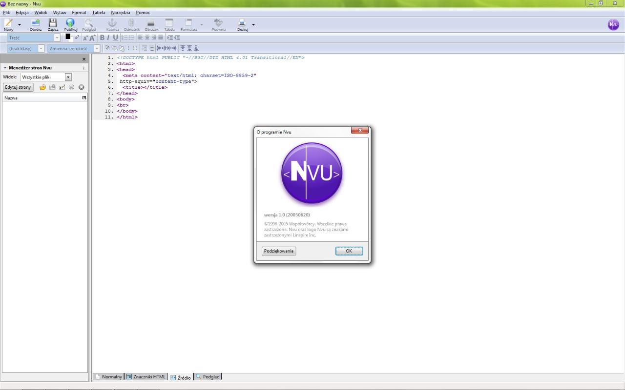 NVU programı